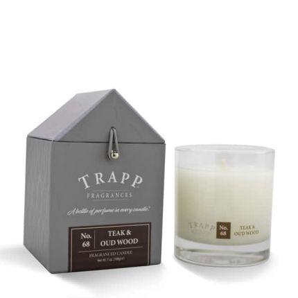 Trapp No. 68 Teak U0026 Oud Wood Large Candle