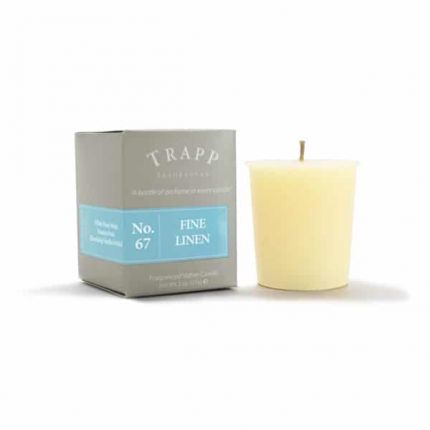 Incroyable Trapp No. 67 Fine Linen Votive Candle